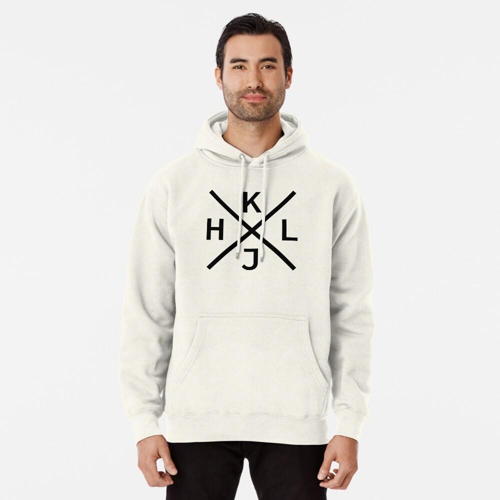 HJKL Design for Programmers Using vi/Vim - Black Graphic Pullover Hoodie