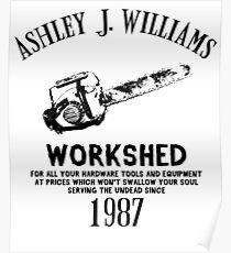 Ash vs Evil Dead - Ash's Chainsaw Poster