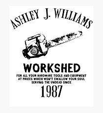 Ash vs Evil Dead - Ash's Chainsaw Photographic Print