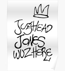 Jughead Jones Wuz Here Poster