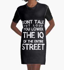 Sherlock - Don't Talk Out Loud... Graphic T-Shirt Dress