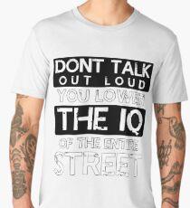 Sherlock - Don't Talk Out Loud... Men's Premium T-Shirt