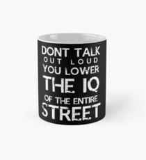 Sherlock - Don't Talk Out Loud... Mug