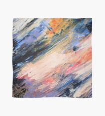 Stormy Sunset Abstract Scarf