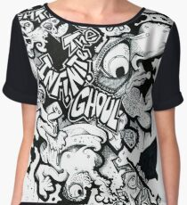 Hoodoo Dave & The Infinite Ghoul Chiffon Top