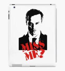 Sherlock - Miss Me (Moriarty) iPad Case/Skin