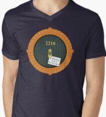 221B Bag End Men's V-Neck T-Shirt