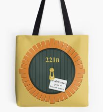 221B Bag End Tote Bag