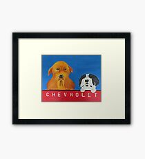 Montana Dogs Framed Print