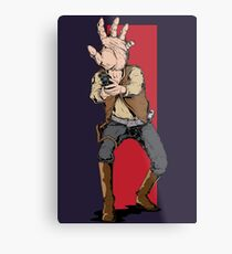 Hand Solo! Handt Rebel Fighter Metal Print