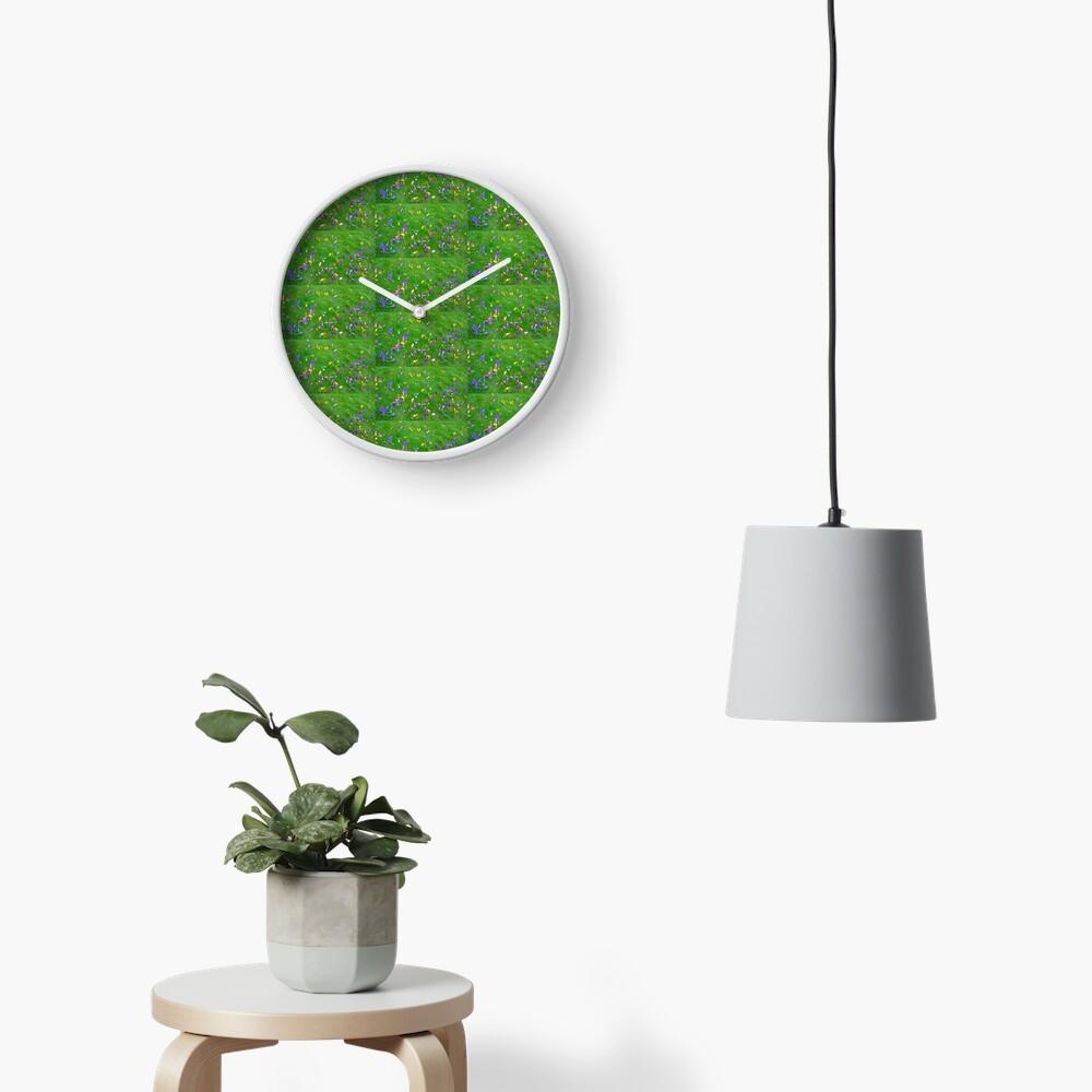 Crocuses  Clock