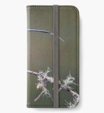 Catching rain drops iPhone Wallet/Case/Skin