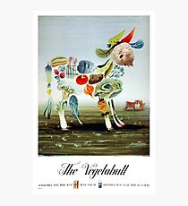 Vintage Vegetabull Advertisement Photographic Print