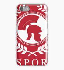 SPQR - Combat Casual Tees iPhone Case/Skin