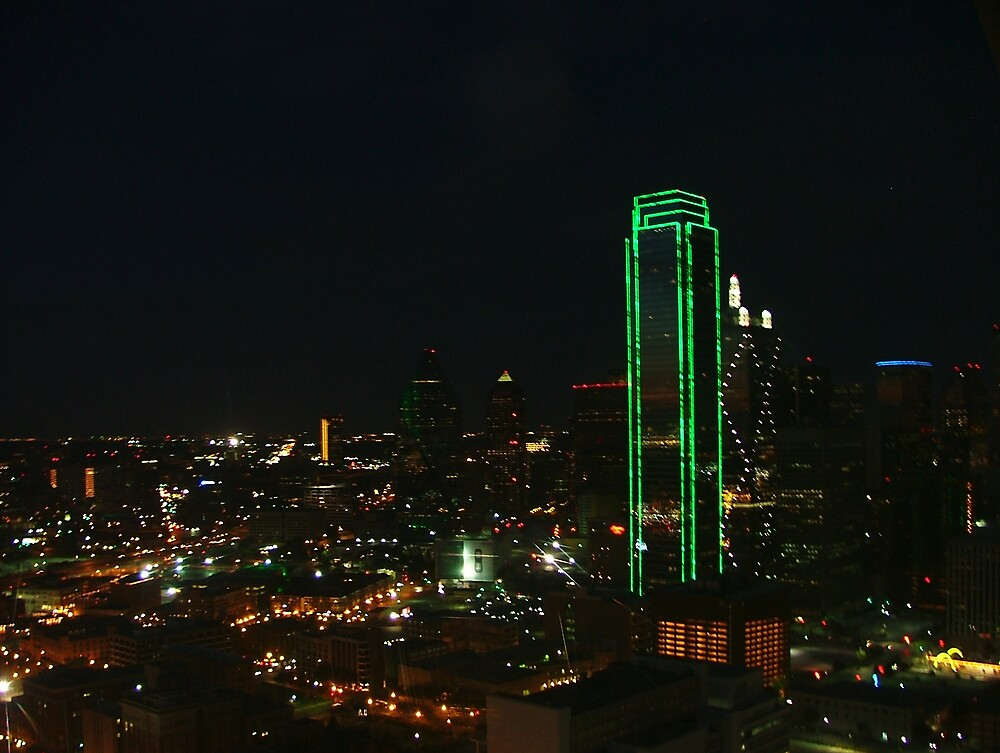 Dallas at Night by kostic