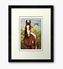 Cup-o-Joe; the Skittle Thief Framed Print
