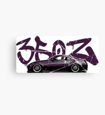 Nissan 350z Purple Canvas Print