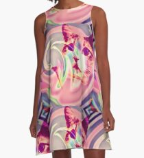 Psychedelic Voldemort A-Line Dress
