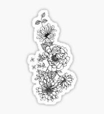 flower branch Sticker