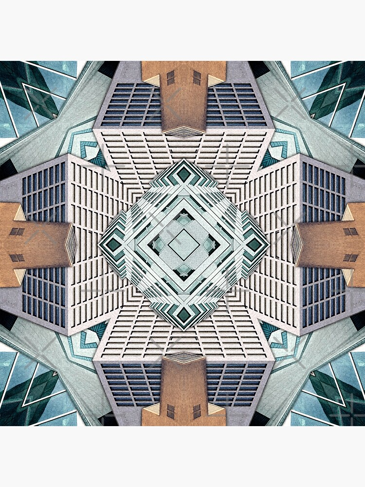 City Cube Collage by perkinsdesigns