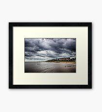 Stormy Seaside Framed Print