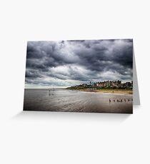Stormy Seaside Greeting Card