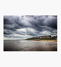 Stormy Seaside Photographic Print