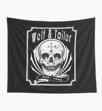 Wolf & Tailor - Skull Logo Wall Tapestry