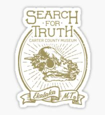 Search For Truth Sticker