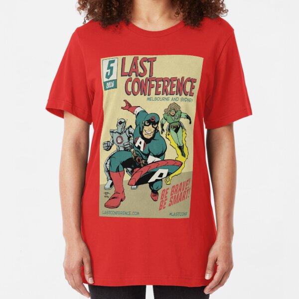 LAST Conference 2016 - Public Slim Fit T-Shirt