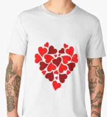 HEART Men's Premium T-Shirt