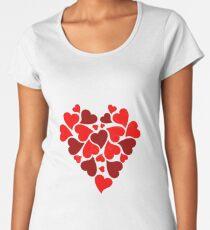 HEART Women's Premium T-Shirt