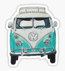 Volkswagon Bus Sticker