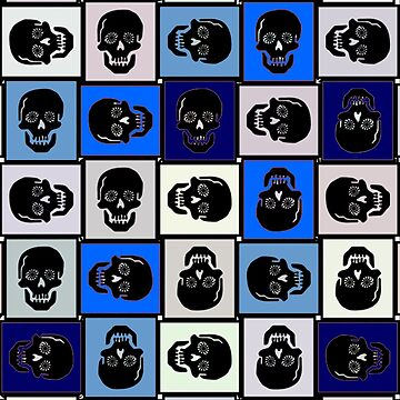 Skulldiggery Blue by CradoxCreative
