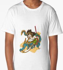 KID GOKU AND DRAGON Long T-Shirt
