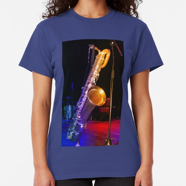Jazzy Tone Colours - Bari Sax Classic T-Shirt