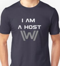 I am a host Unisex T-Shirt