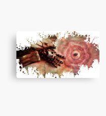 Fullmetal alchemist edwar hand splatter Metal Print