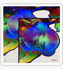 Blue Orchid Sticker