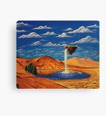 Desolate Cascade Canvas Print