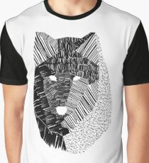 Wolf Mask Graphic T-Shirt