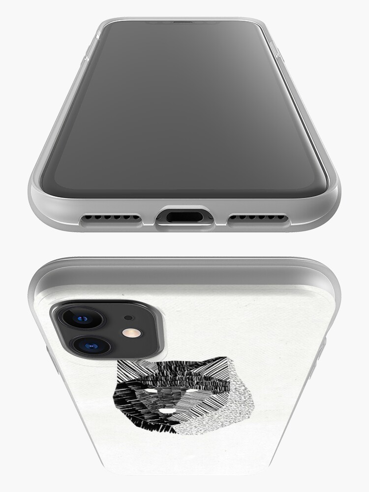Alternate view of Wolf Mask iPhone Case & Cover