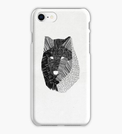 Wolf Mask iPhone Case/Skin