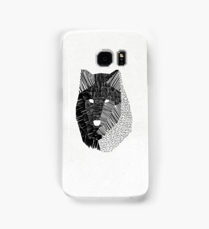 Wolf Mask Samsung Galaxy Case/Skin