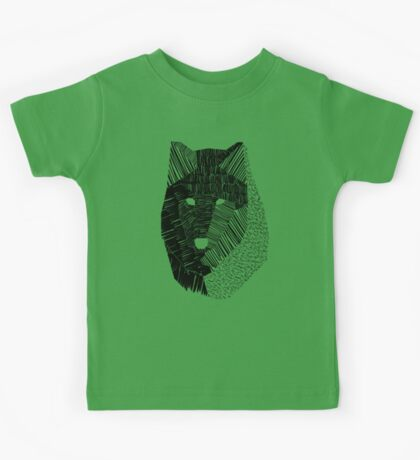 Wolf Mask Kids Clothes