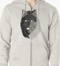 Wolf Mask Zipped Hoodie