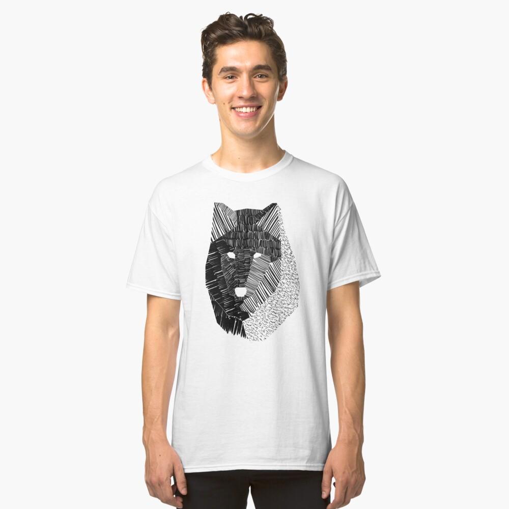 Wolfsmaske Classic T-Shirt