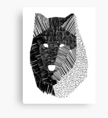 Wolf Mask Canvas Print