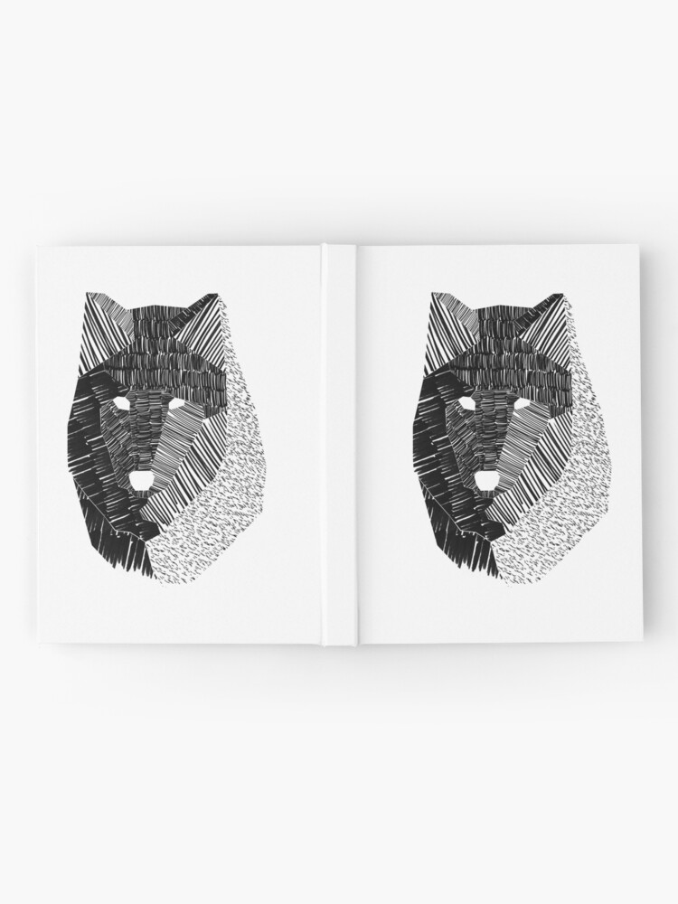 Alternate view of Wolf Mask Hardcover Journal
