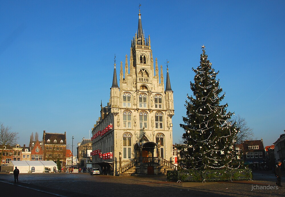 Gouda townhall by jchanders